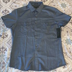Marc Anthony Short Sleeve Button-Up